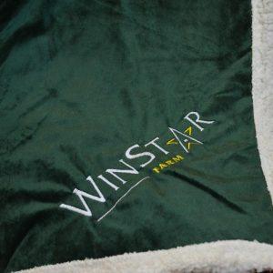 A New Item! WinStar Lambswool Throw Blanket
