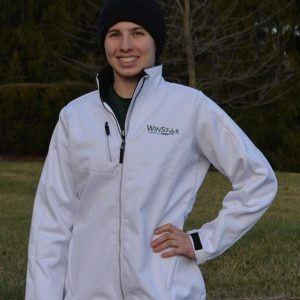 A New Item! Carpe Diem Ladies White Traverse Bonded Fleece Jacket